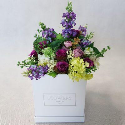 kwiaty w pudełku - wzór 33 - zdjęcie 1