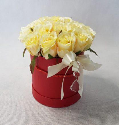kwiaty w czerwonym pudełku - wzór 34 - zdjęcie 5