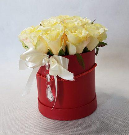 kwiaty w czerwonym pudełku - wzór 34 - zdjęcie 6