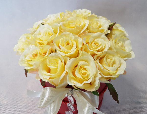 kwiaty w czerwonym pudełku - wzór 34 - zdjęcie 7