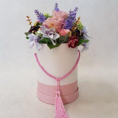 kwiaty w różowym pudełku - wzró 37 - zdj. 1