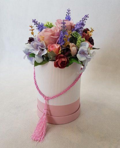 kwiaty w różowym pudełku - wzró 37 - zdj. 3