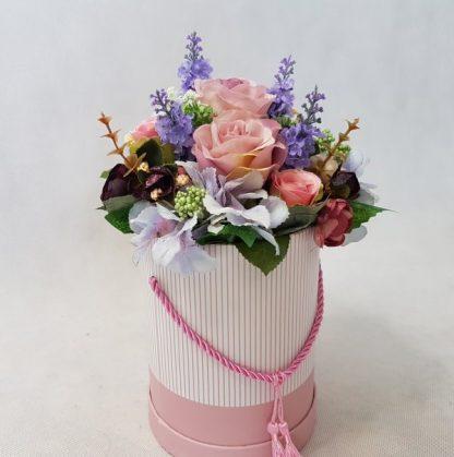kwiaty w różowym pudełku - wzró 37 - zdj. 5