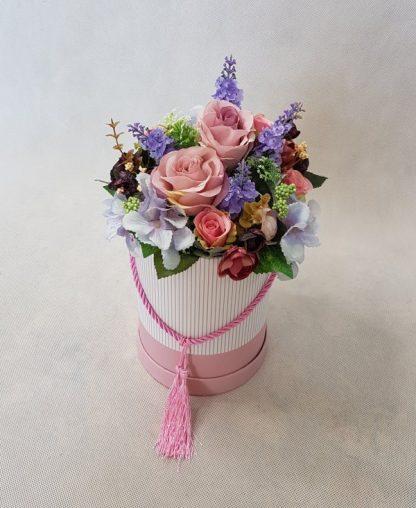 kwiaty w różowym pudełku - wzró 37 - zdj. 6