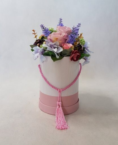 kwiaty w różowym pudełku - wzró 37 - zdj. 7