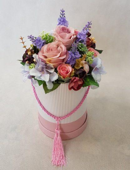 kwiaty w różowym pudełku - wzró 37 - zdj. 8