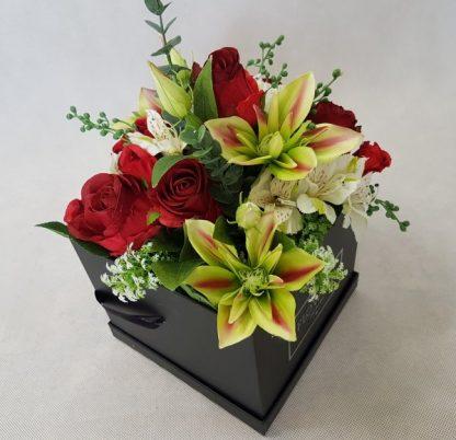 kwiaty w czarnym pudełku - wzór 38 - zdj 6