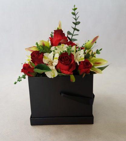 kwiaty w czarnym pudełku - wzór 38 - zdj 8