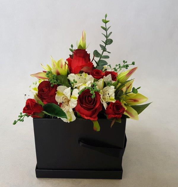 kwiaty w czarnym pudełku - wzór 38 - zdj 9