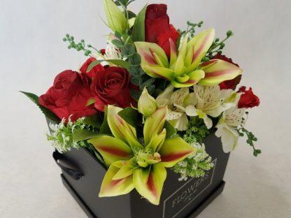 kwiaty w czarnym pudełku - wzór 38 - zdj 11