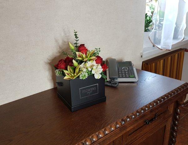 kwiaty w czarnym pudełku - wzór 38 - zdj 12
