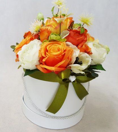 duże kwiaty w pudełku - wzór 40 - zdj 8