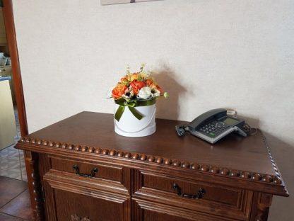 duże kwiaty w pudełku - wzór 40 - zdj 10