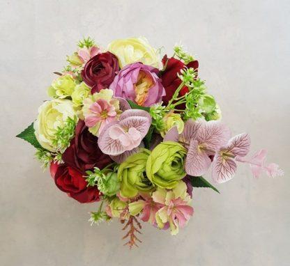 wysokie kwiaty w pudełku - wzór 41 - zdj 4