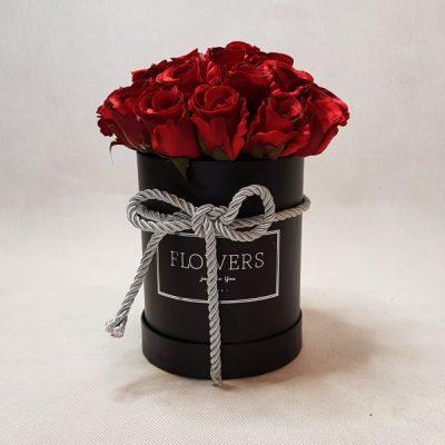 róże w pudełku 3