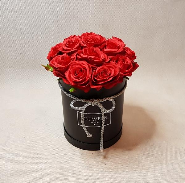 róże w pudełku - wzór 46 - 2