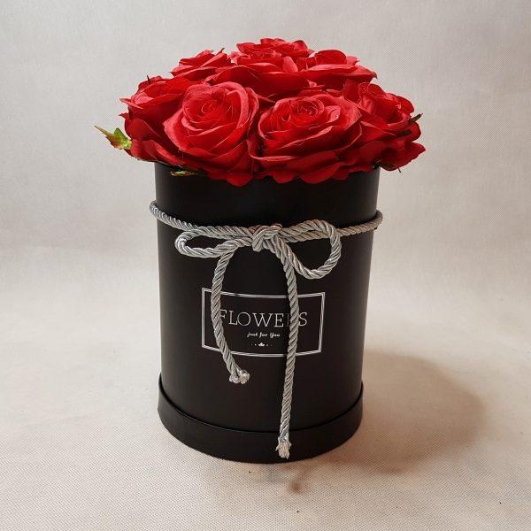 róże w pudełku - wzór 46 - 3