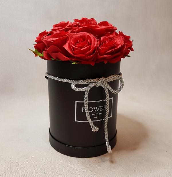 róże w pudełku - wzór 46 - 4
