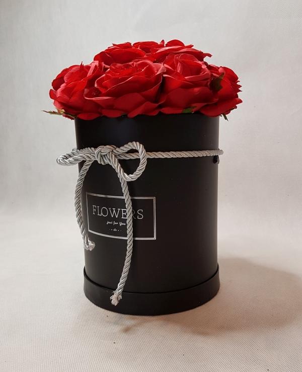 róże w pudełku - wzór 46 - 5