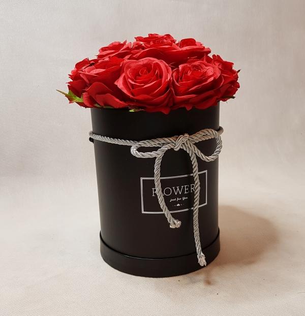 róże w pudełku - wzór 46 - 6