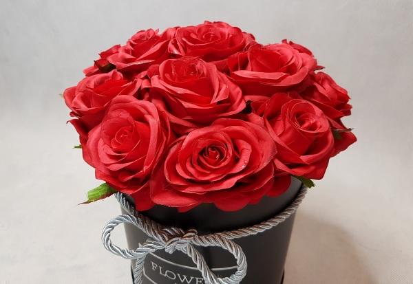 róże w pudełku - wzór 46 - 7