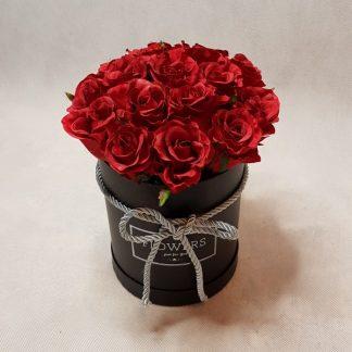 Kwiaty W Pudełku Róże I Inne Flowerboxy Od Flowers Atelier