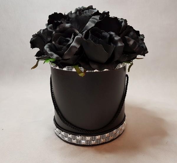 czarne róże w pudełku-wzor56-3