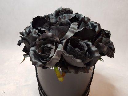 czarne róże w pudełku-wzor56-07