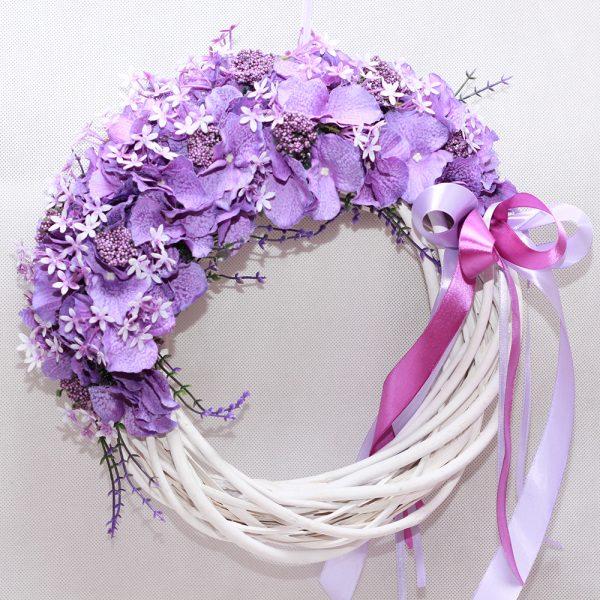 wianek-na-drzwi-fioletowe-kwiaty-1