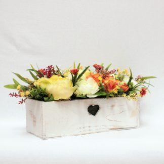 Kwiaty w skrzynkach