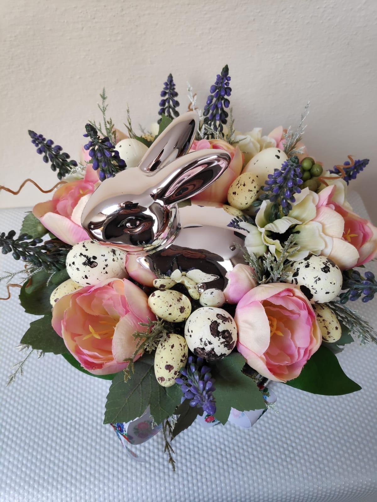 wielkanocny flowerbox 1