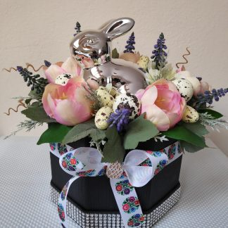 wielkanoncy flowerbox
